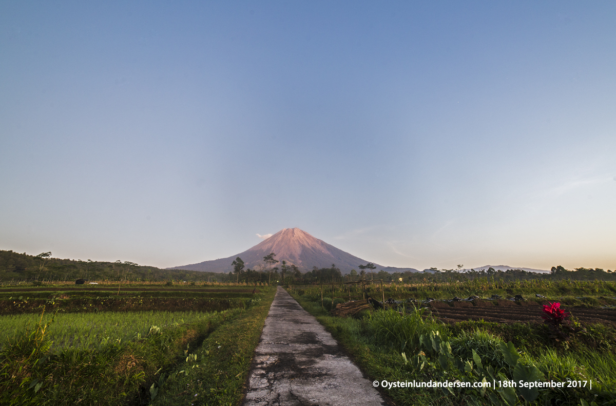 Semeru volcano eruption 2017 lumajang indonesia gunungapi semeru
