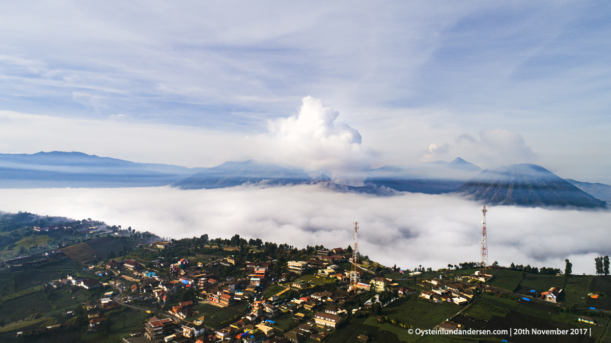 Bromo Volcano Tengger Indonesia East-JAva 2017 November Aerial Phantom 4