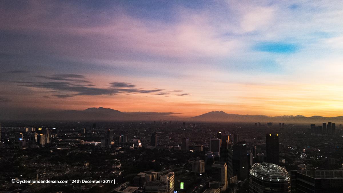 Salak Gede Panrango JAkarta Sunset 2017