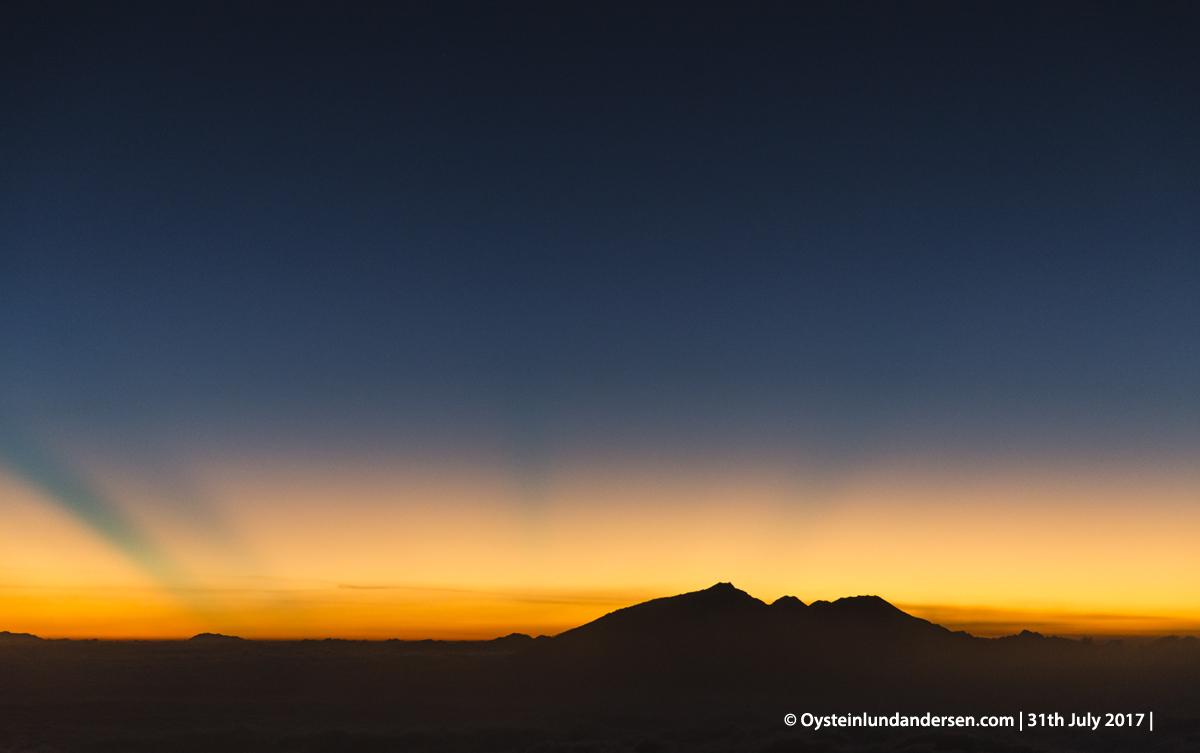 Arjuna Welirang volcano 2017 gunungapi indonesia java