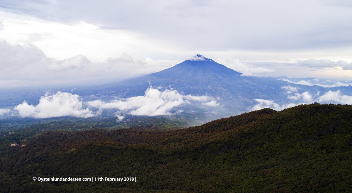 Cikuray Garut 2018 volcano Java Indonesia