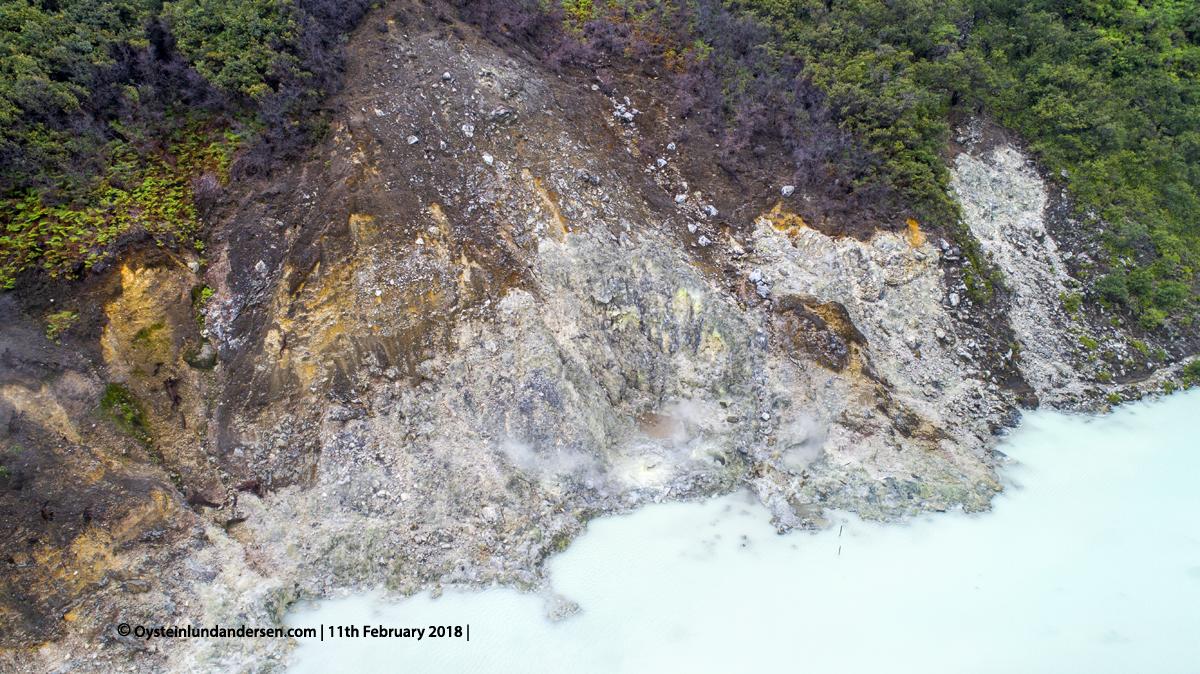 Telaga Bodas Crater Lake Garut Indonesia volcano 2018 Fumarolic fumarole gas
