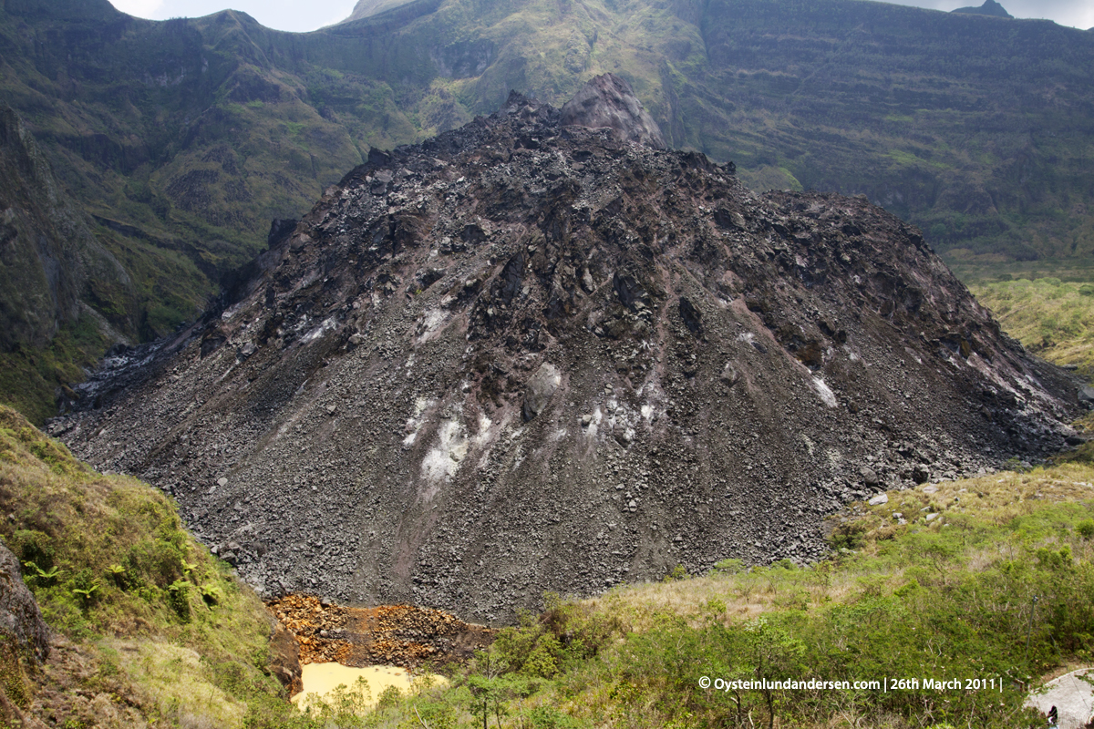 Kelud Kelut Volcano 2011 Lava-dome dome indonesia