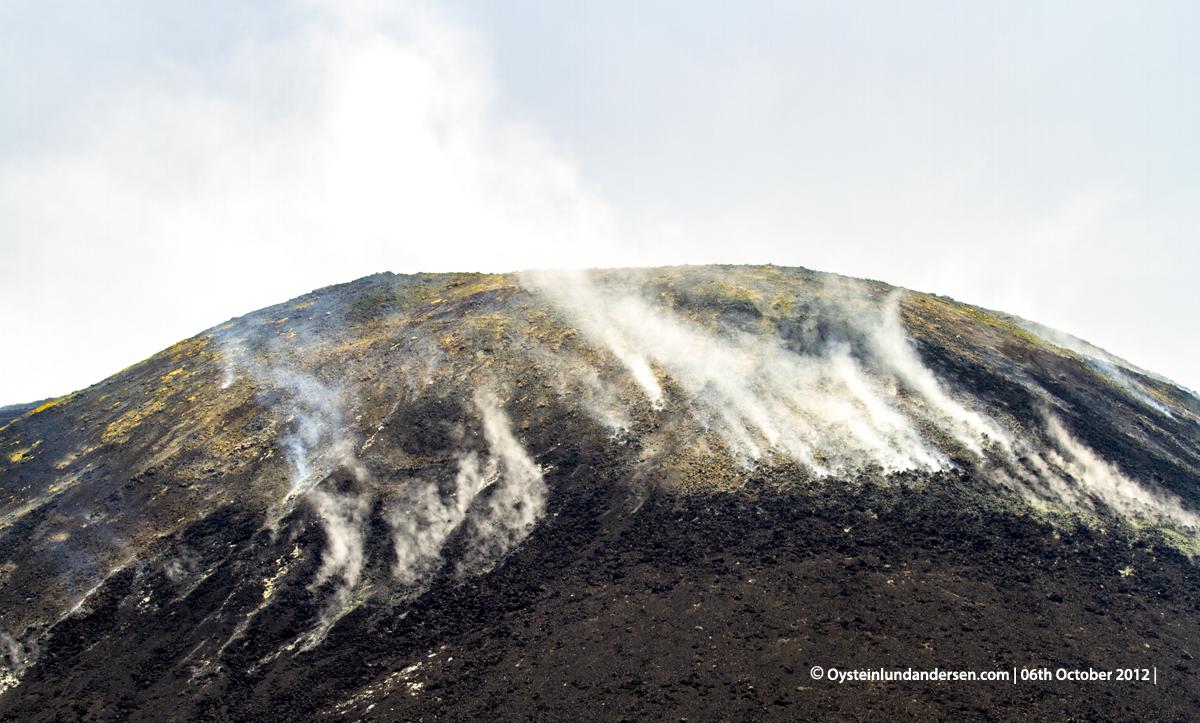 Krakatau Anak Krakatau Lava-flow October 2012 Indonesia Volcano Andersen Oystein