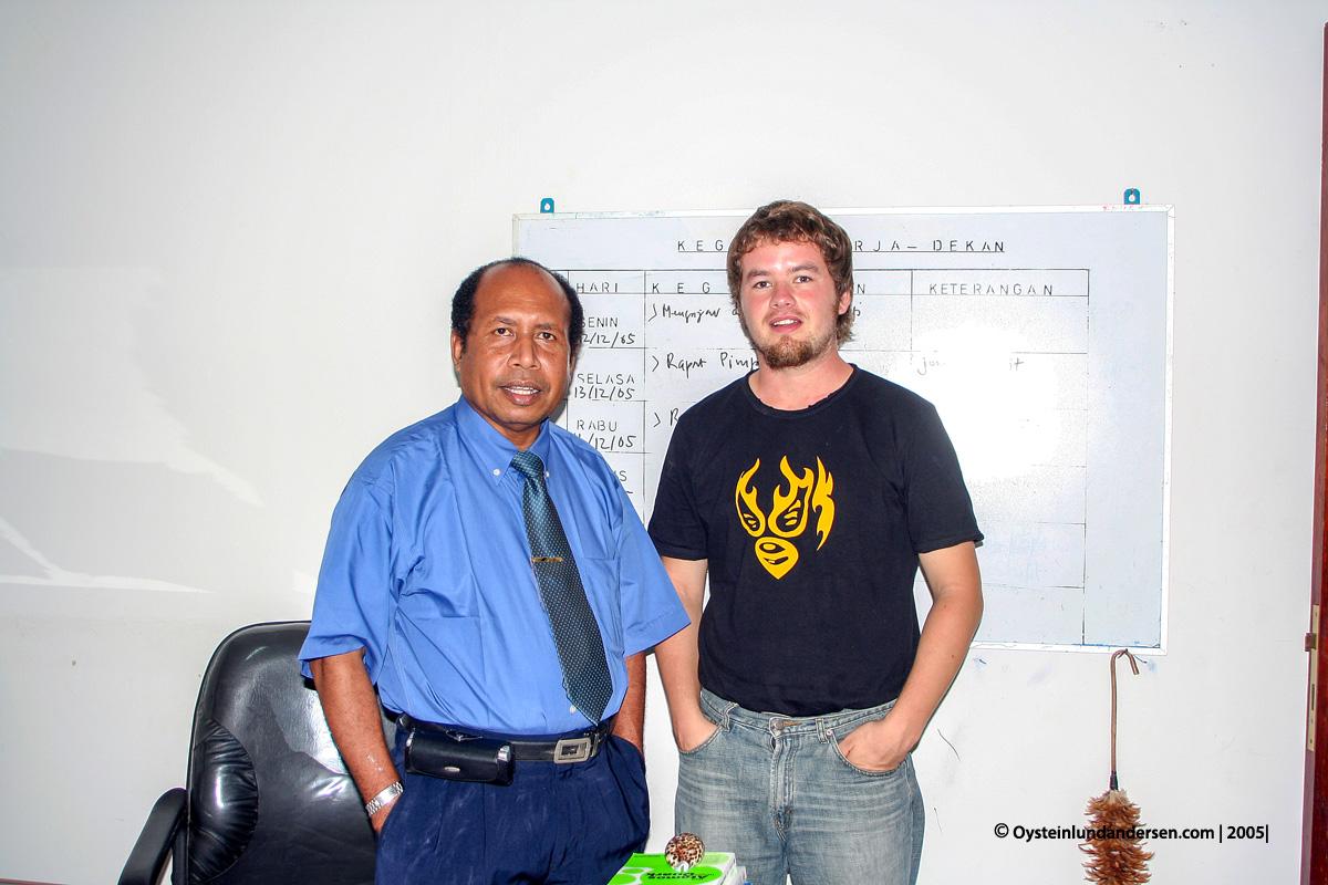 Cenderawasih Universitas UniversityPapua UNCEN Jayapura student 2005 Naffi Sanggenafa