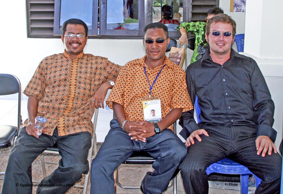 Cenderawasih University Jayapura Papua Anthropology Antropologi UNCEN Habel Samakori Enrico Kondologit