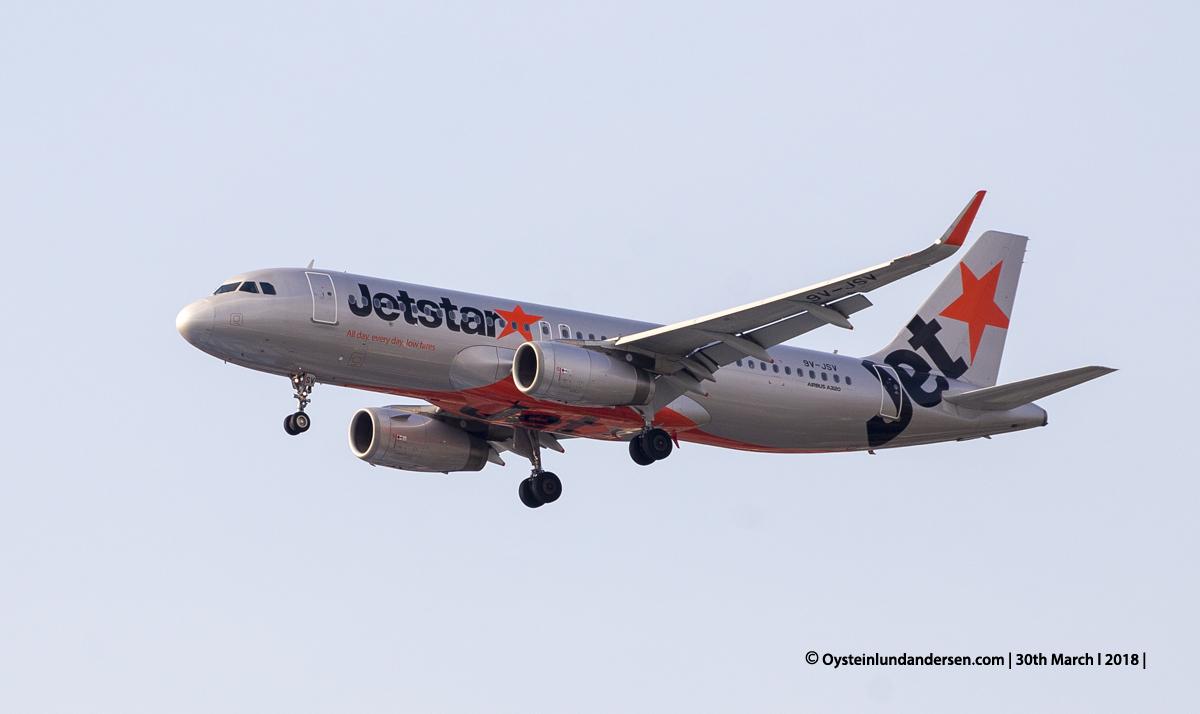 jakarta cgk KLM Airbus 320-200 9V-JSV