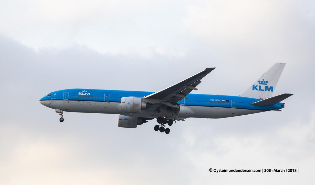 jakarta cgk KLM Boeing 777-200 PH-BQE
