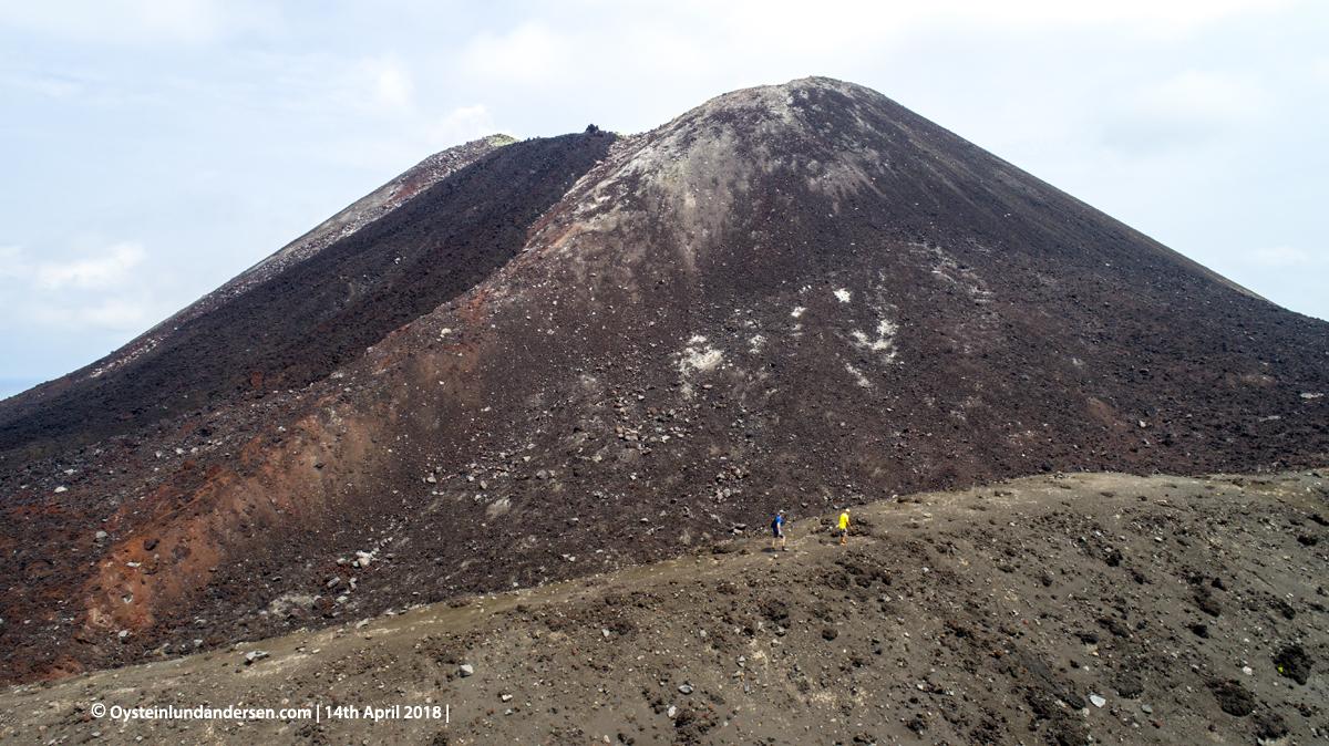 Anak-Krakatau, Krakatau, April, 2018, Volcano, Indonesia, Gunungapi, drone, aerial