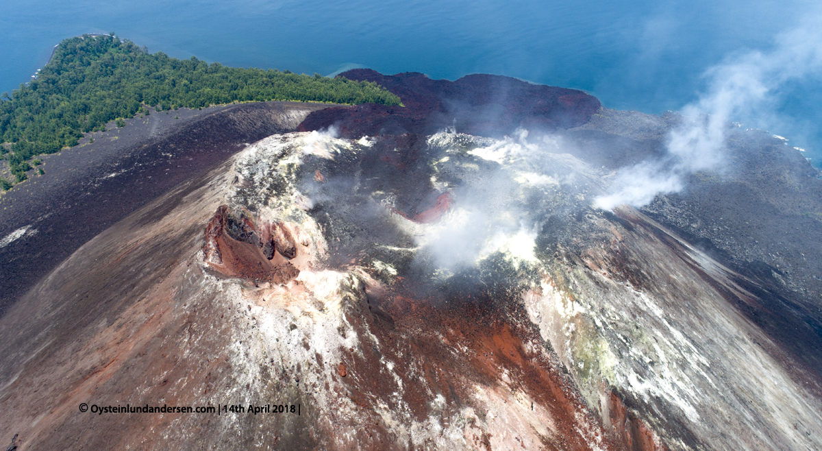 Anak-Krakatau, Krakatau, April, 2018, Volcano, Indonesia, Gunungapi