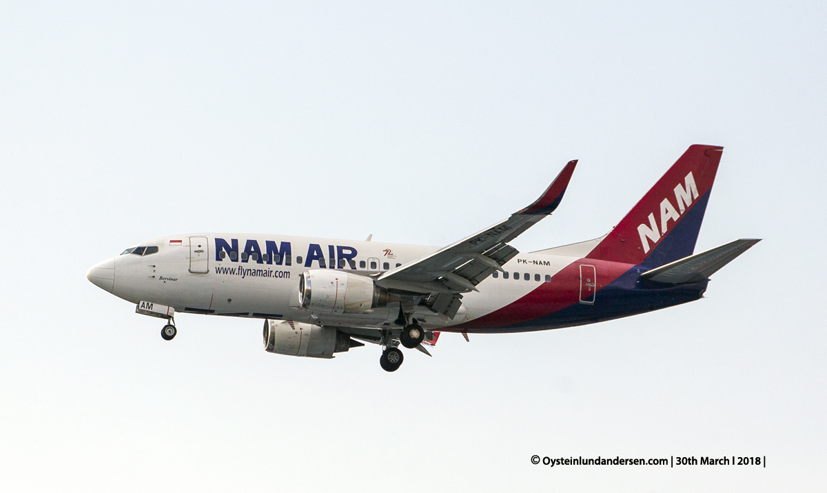 jakarta cgk Nam Air 737-500 PK-NAM