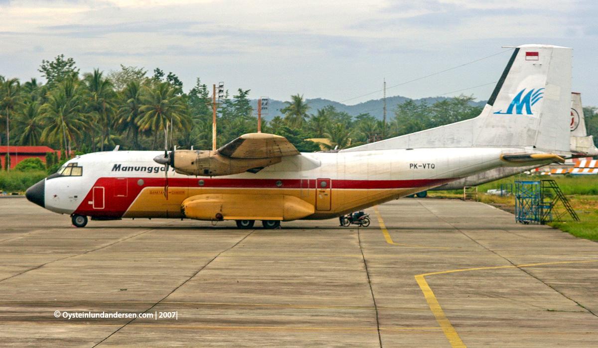 Transall C-160NG PK-VTQ 2007 Jayapura disaster crash manunggal air