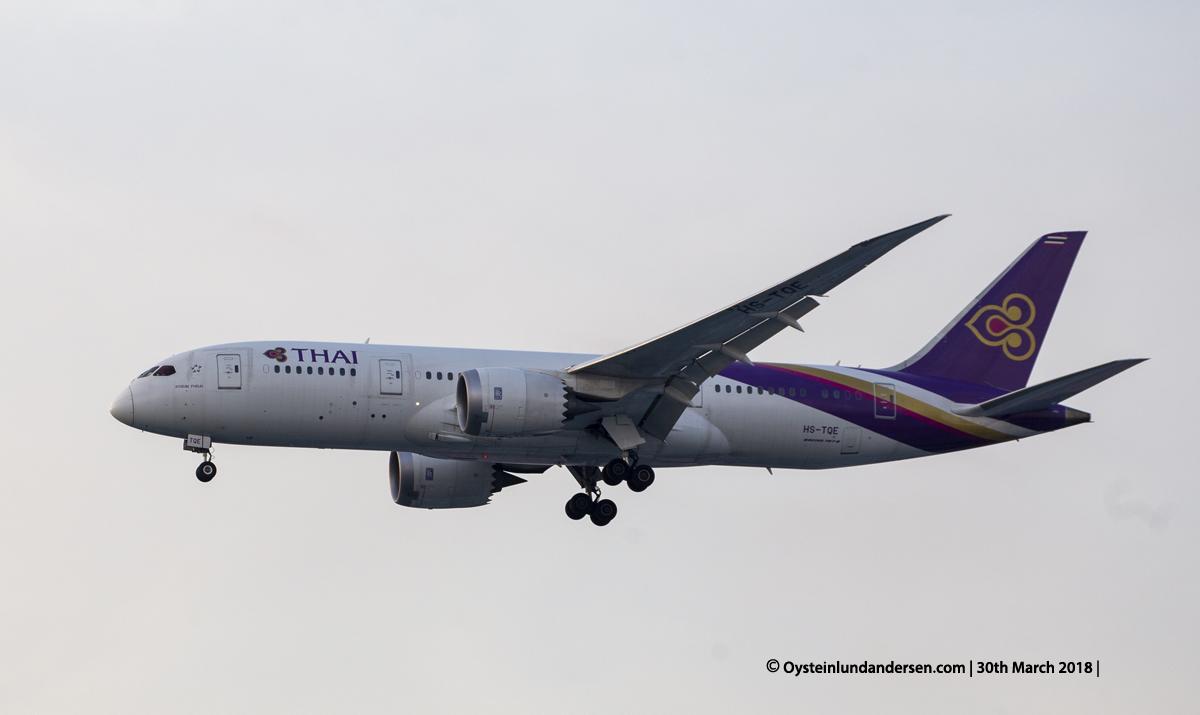 jakarta cgk Thai Airways Boeing 787-8 HS-TQE