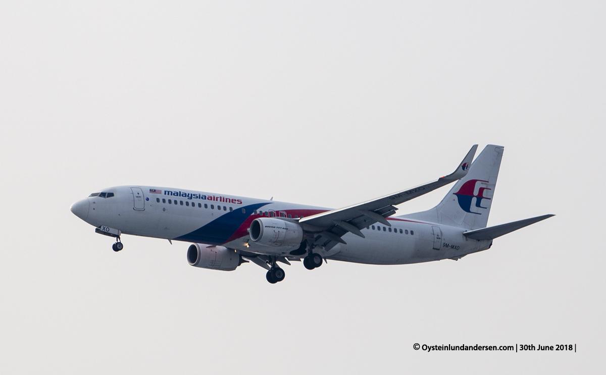 Boeing 737-800 (9M-MXO)