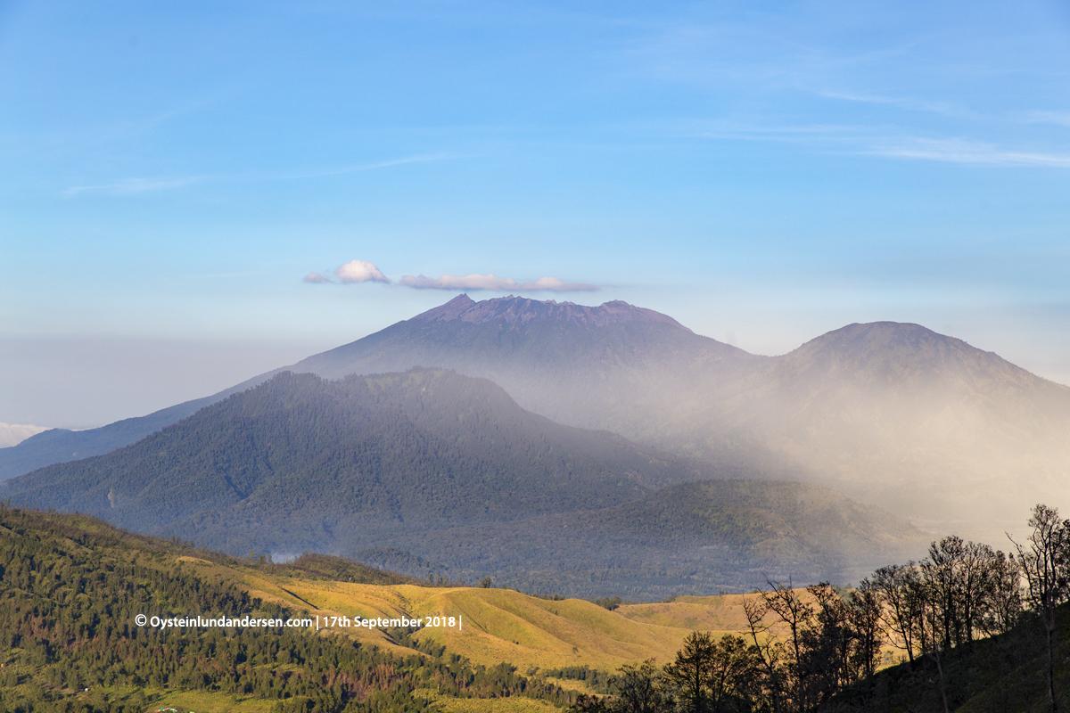 Raung Volcano Java Gunung Indonesia