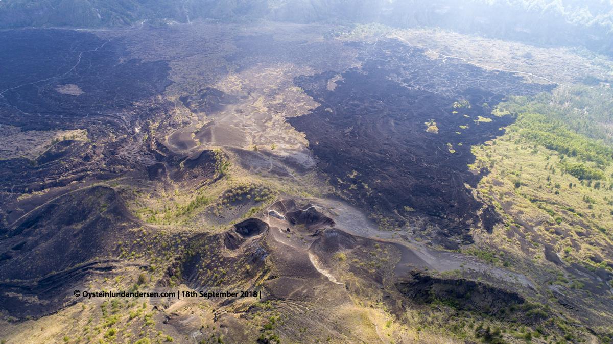Batur Volcano Indonesia Bali crater lava 2018