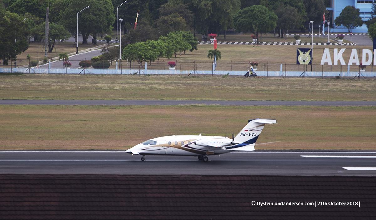 Susi Air P-180 (PK-VVX) Yogyakarta Airplane Spoting