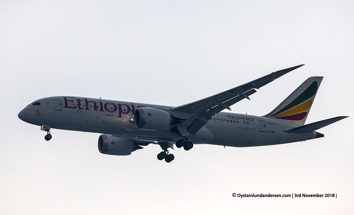 Ethiopian Airlines Boeing 787-8 ET-ASI