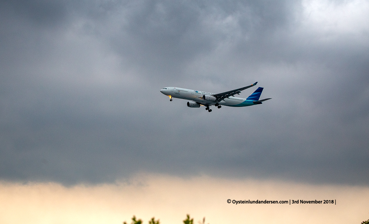 Garuda indonesia Airbus 330-300 (PK-GPU