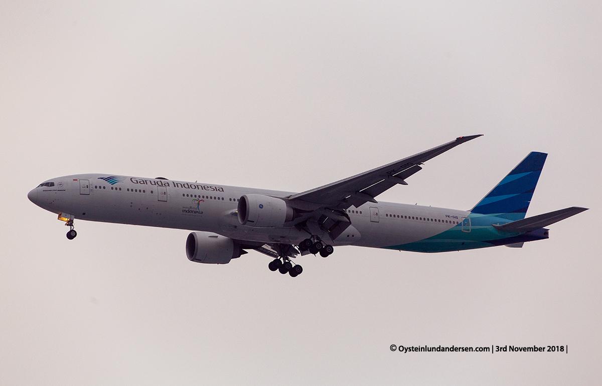 Garuda indonesia Boeing 777-300 PK-GIG