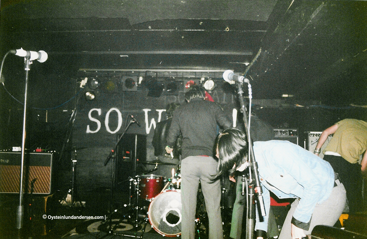 TINC The International Noise Conspiracy Sowhat Oslo 2001