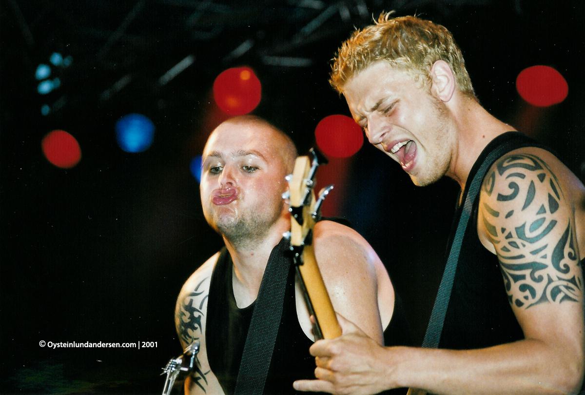 Jupither band Trästock festivalen 2000 skellefteå -x2