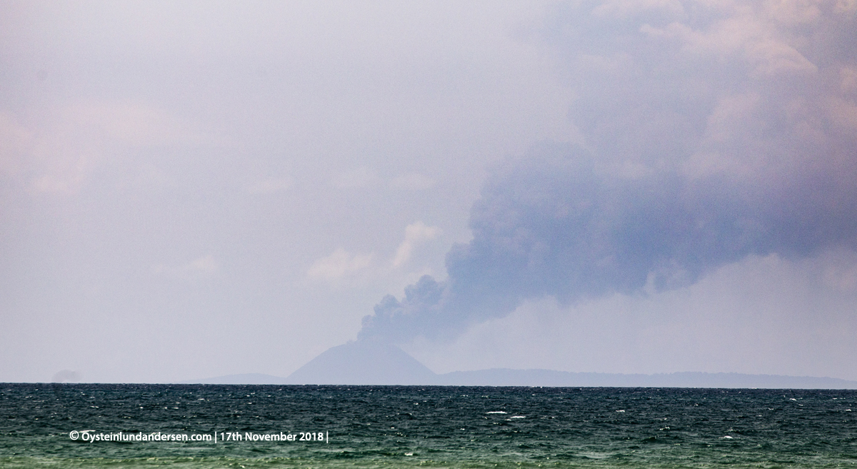 Krakatau eruption november 2018 anyer carita