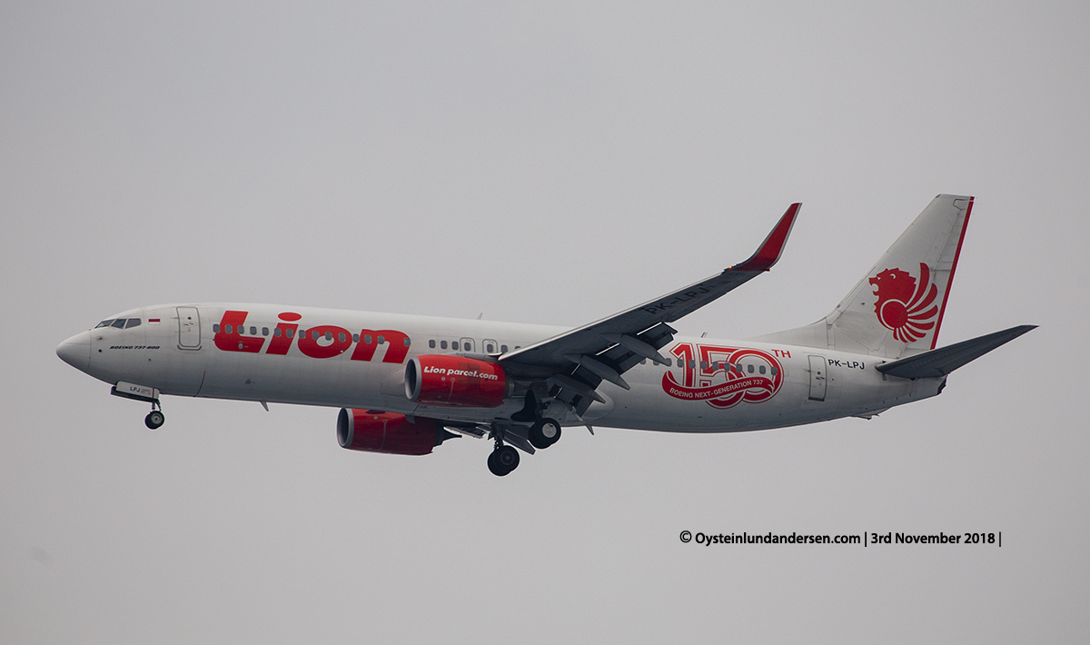 Lion Air Boeing 737-800 PK-LPJ