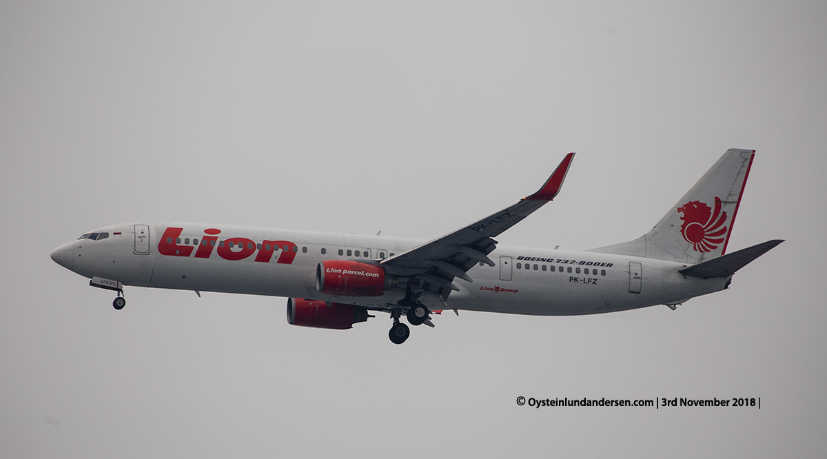 Lion Air Boeing 737-900ER PK-LFZ