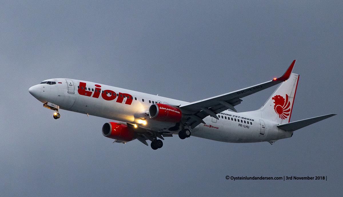 Lion Air Boeing 737-900ER PK-LHU