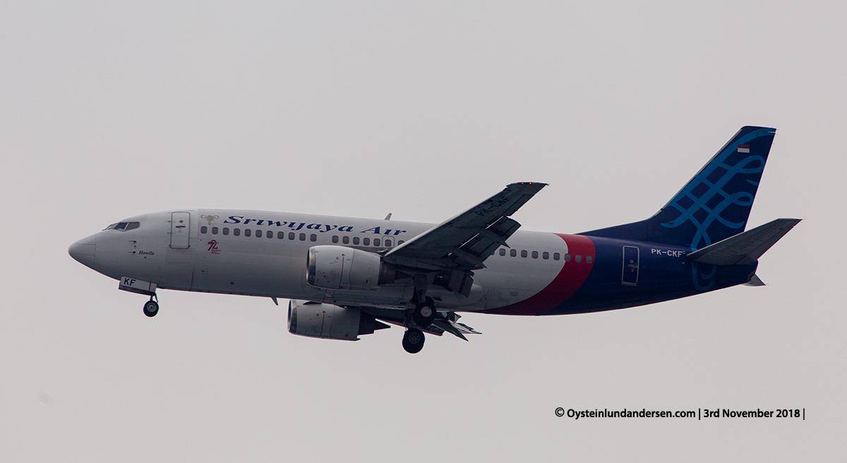 Sriwijaya named Hawila Boeing 737-800 PK-CKF