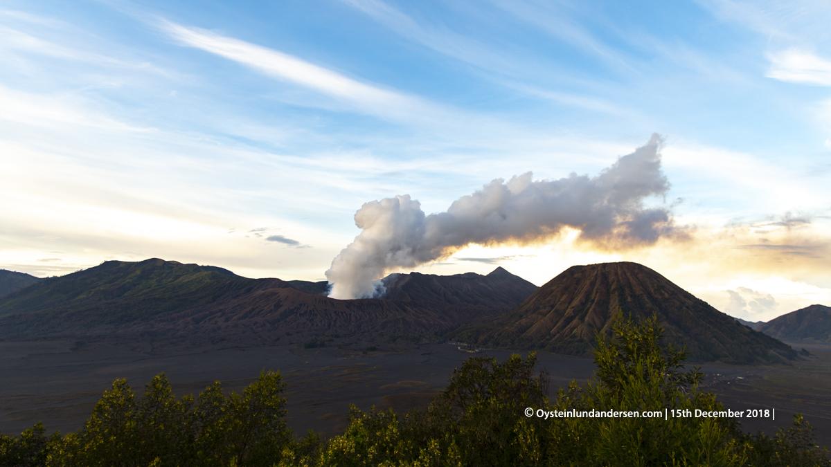 Bromo Volcano 2018 Indonesia gunung-bromo volcano