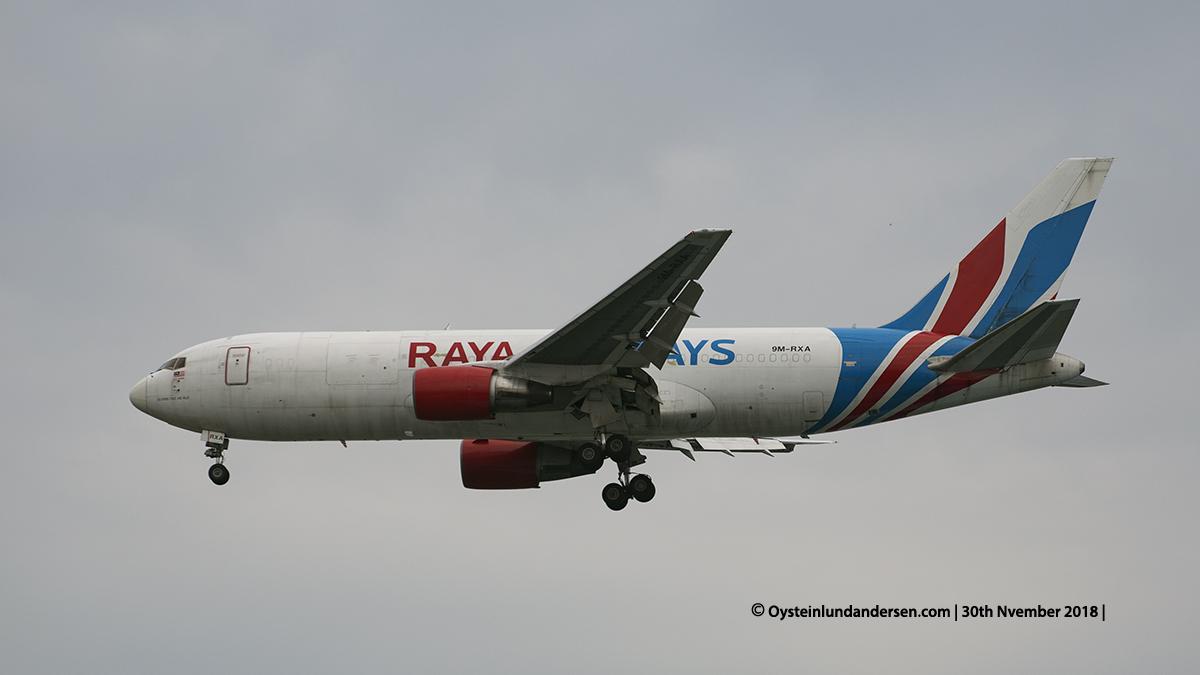 Raya Airways Boeing 767-200 (9M-RXA) Jakarta airport Indonesia CGK