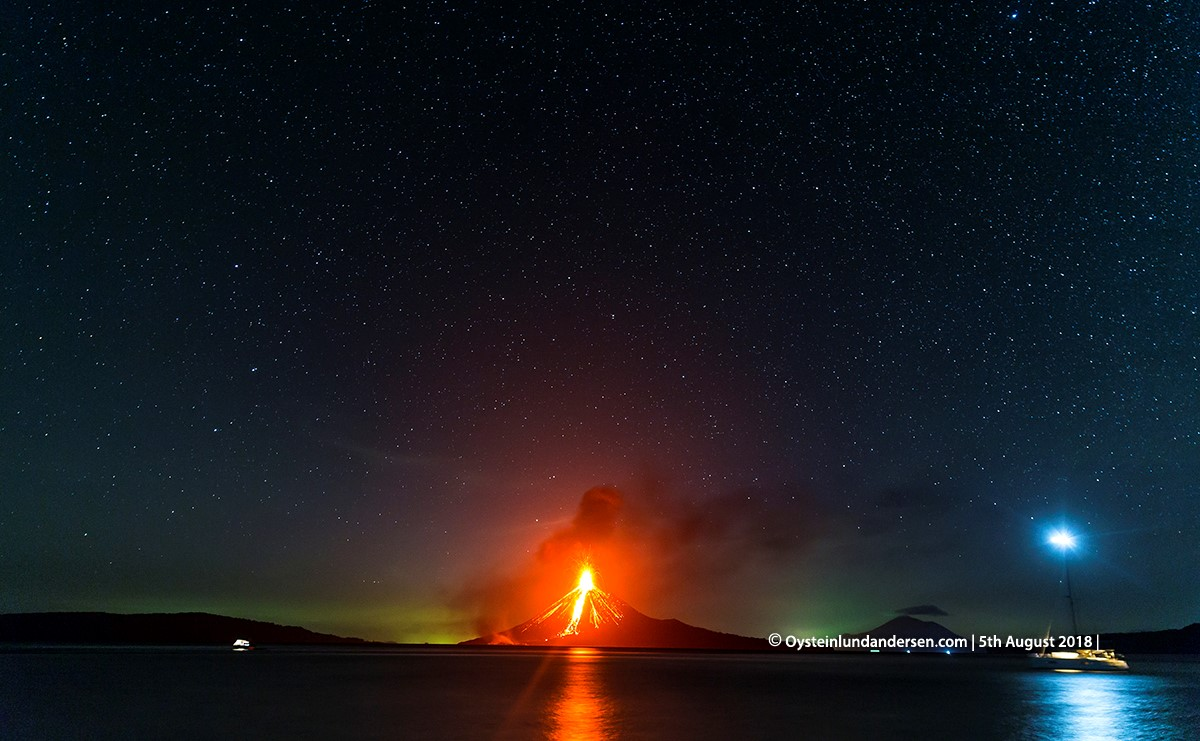 krakatau volcano eruption 2018 java indonesia