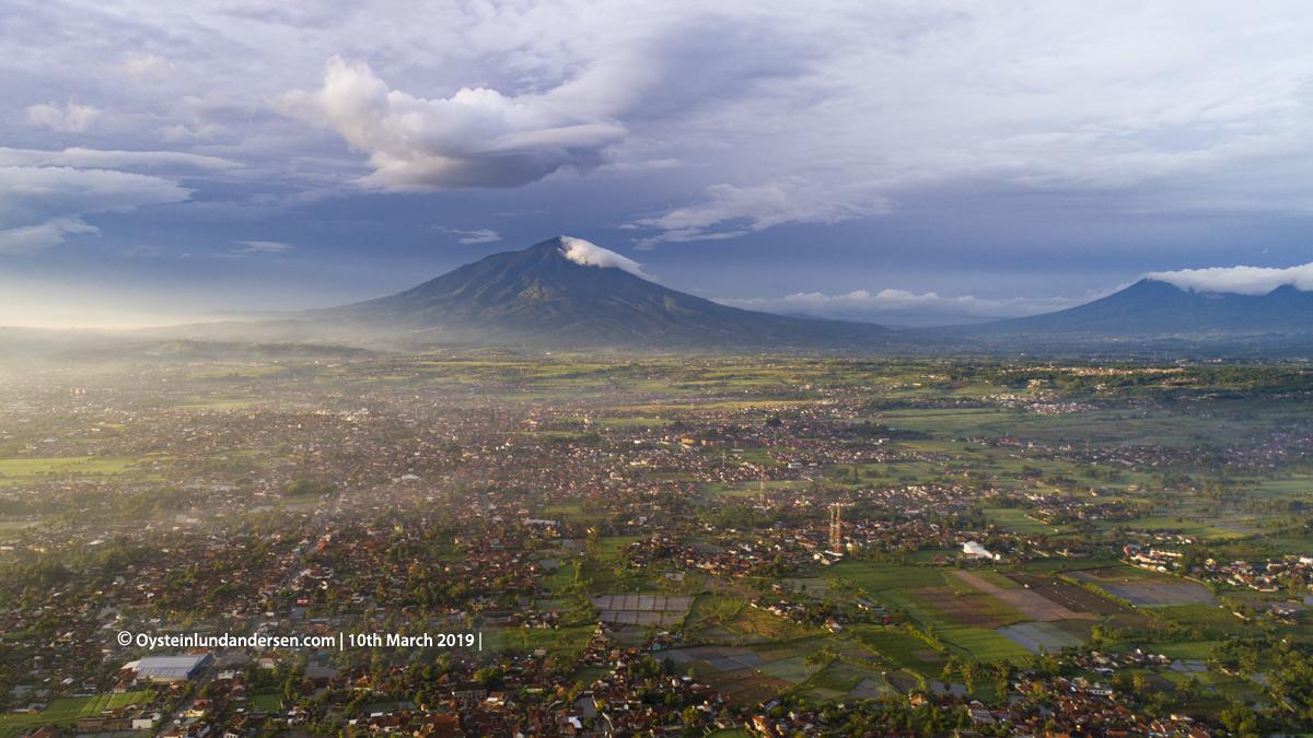 Cikurai volcano Java Indonesia 2019