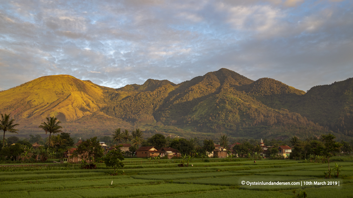 Guntur Volcano Garut Java 2019
