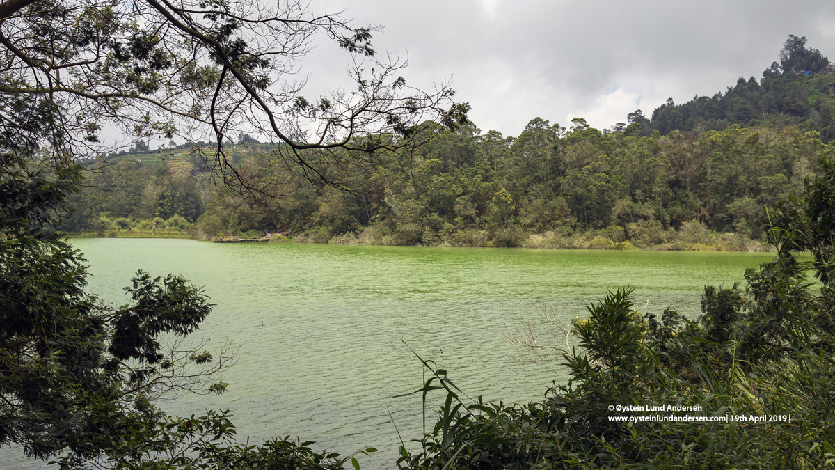 Dieng Plateau Telaga warna 2019
