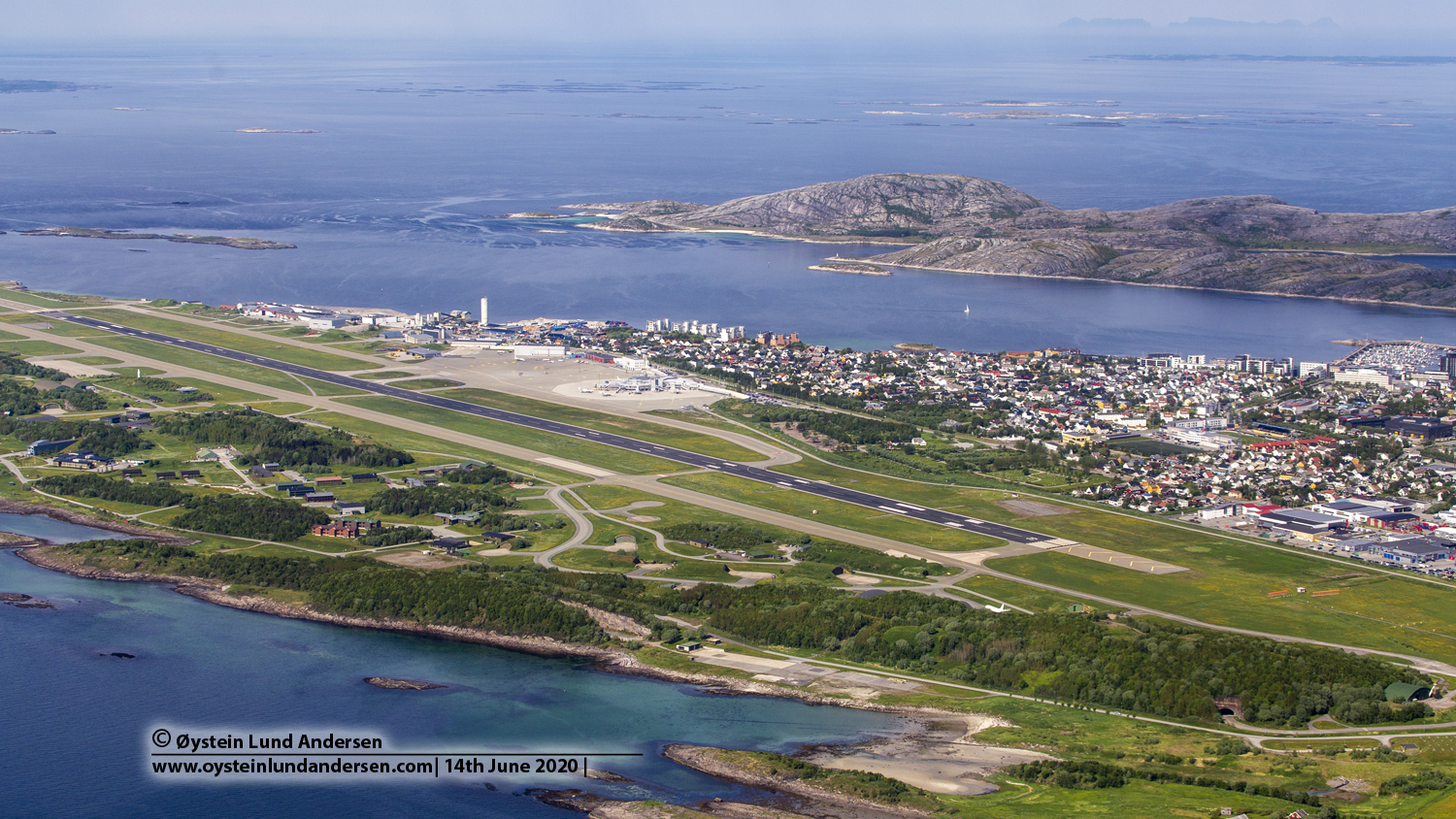 Bodø Airport ENBO BOO Aerial Norway 2020 bodø flyplass