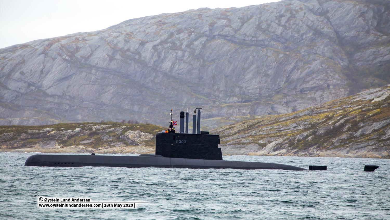 Norwegian Submarine Bodø S303 UTVÆR